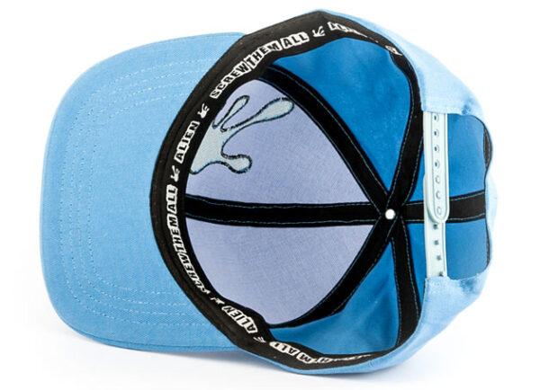 Qualityhats Shop - Screw Them All Logo Hat - Blue - Details