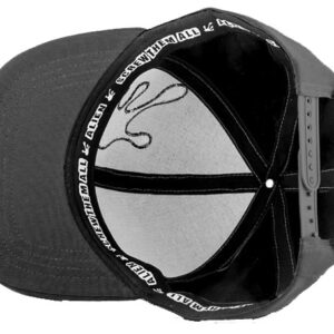 Qualityhats Shop - Screw Them All Logo Hat - Black - Details