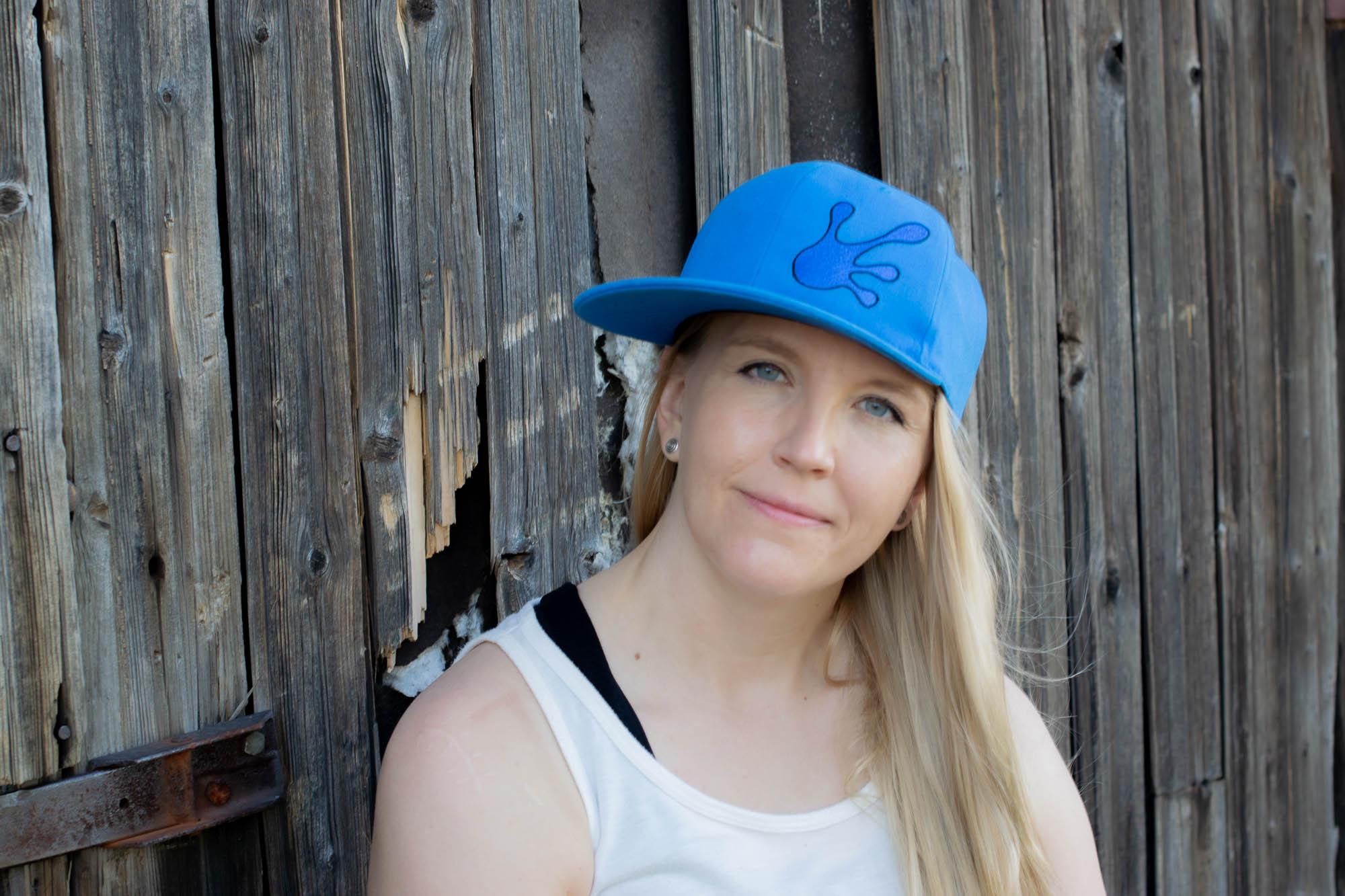 Qualityhats Shop - Screw Them All Logo Hat - Blue - Women